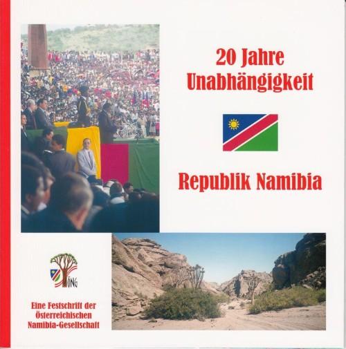 Cover Festschrift 20  Jahre Unabhängigkeit Reüublik Namibia