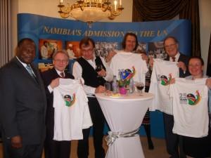Botschaftsempfang in Wien 25 Jahre Namibia 24. März 2015