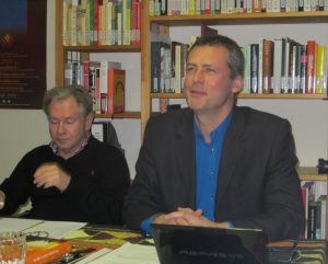 Bernhard Bouzek (re), SADOCC-Forum 18. Jan. 2018