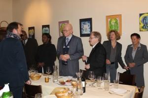Namibischer Sozalminister in Wien mit der ÖNG am 6.12.2016
