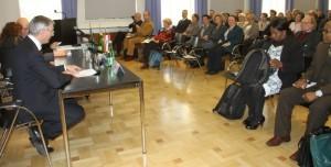 Vortrag im Sozialministerium